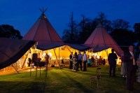 Event in a Tent - Tipi Hire Cornwall