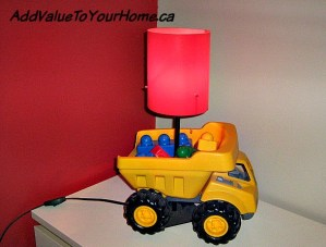 How to make a Dump Truck Light for under $10.00