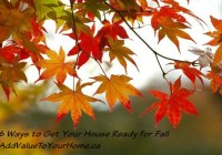 6 Ways to Get Your House Ready for Fall