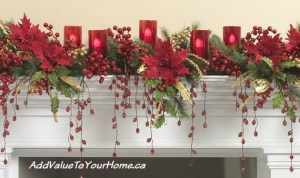 Christmas Mantel decorating ideas to stir your creative juices!