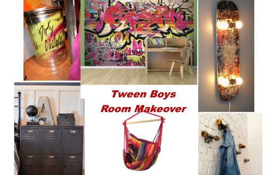 Tween Boy's room mood board   Debi Collinson Designs