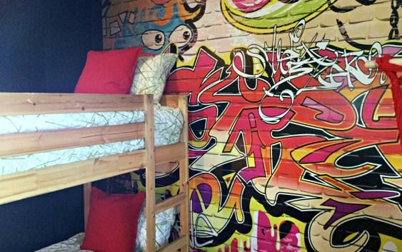 Sk8Park Bedroom - Debi Collinson Interiors