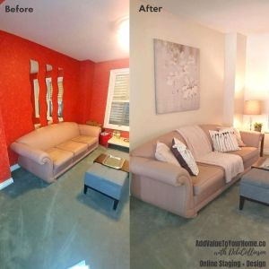 Main Floor Staging Paint Color e-Staging Consult