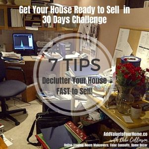 7 Tips to Declutter Your Home FAST to Get It Ready To Sell