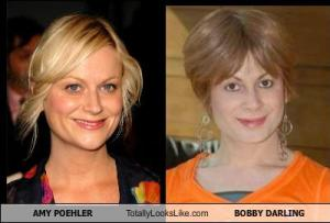 AMY POEHLER Totally Looks Like BOBBY DARLING