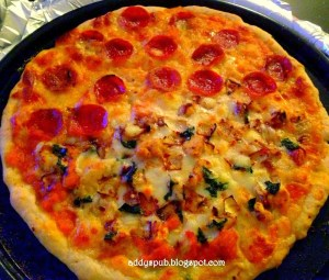 Pizza- Half & Half