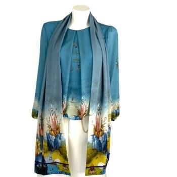 blouse Jeroen Bosch blauw