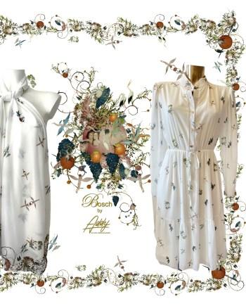 jurk Jeroen Bosch wit