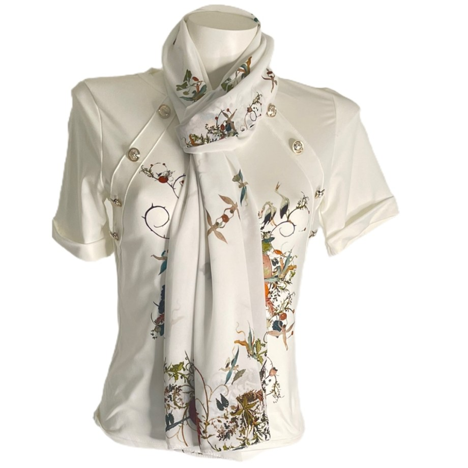 Bosch by Addy T shirt and shawl