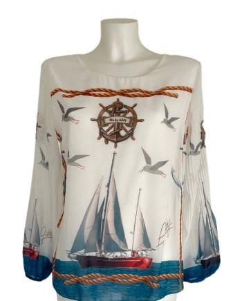 blouse met boot Addy van den Krommeacker