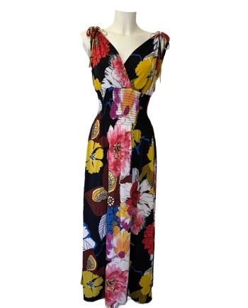 flower holdiday dress