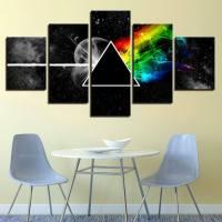 Music Artwork modular canvas wall art   Pine wood frame ...