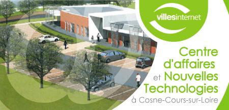 La ville de Cosne-Cours-sur-Loire toujours plus connectée.