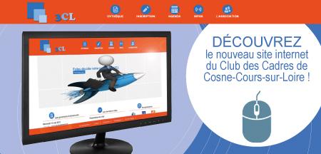 Nouveau site internet pour le Club des Cadres de Cosne-Cours-sur-Loire