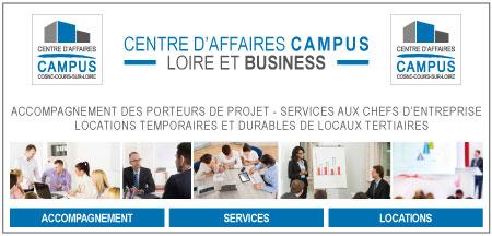 Ouverture du centre d'affaires CAMPUS de Cosne-Cours-sur-Loire.