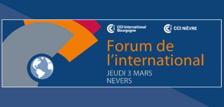 Participez au Forum de l'International de Nevers !