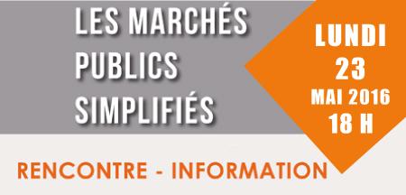 L'évolution du Code des Marchés Publics présentée aux acteurs du bâtiment.