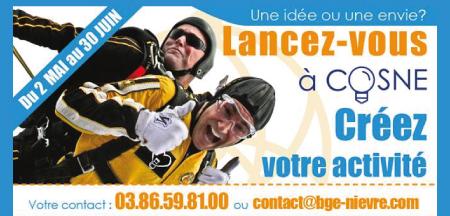 Stimuler la création de petites entreprises à Cosne-Cours-sur-Loire.