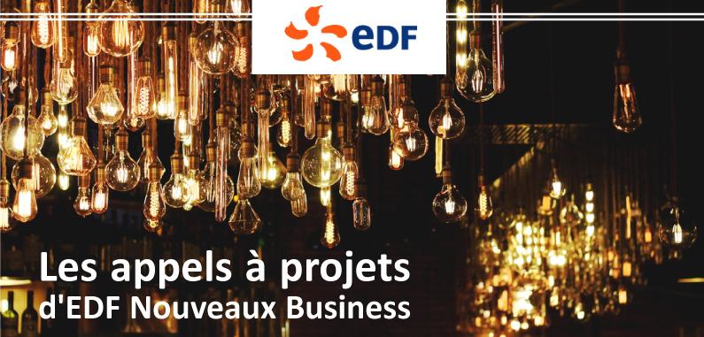 Appels à projets d'EDF : innovez !
