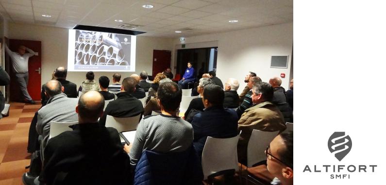 Les dirigeants du bassin de Cosne-Cours-sur-Loire découvrent l'entreprise Altifort SMFI
