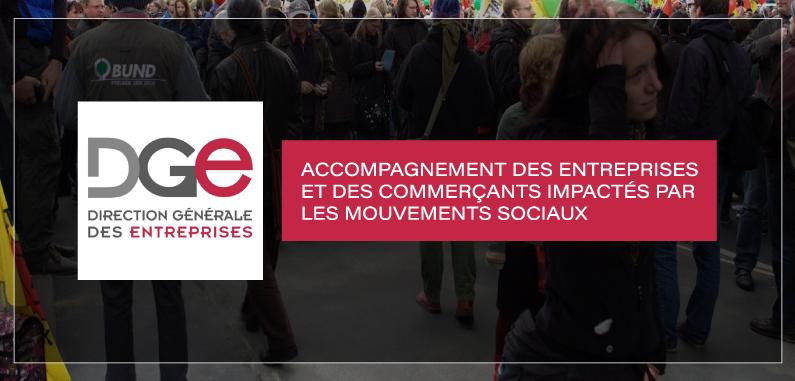 Accompagnement des entreprises et des commerçants impactés par les mouvements sociaux