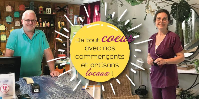 Commerçants et artisans locaux : à la rencontre de Christian Girard et Karine Bonnard !
