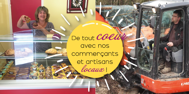 Commerçants et artisans locaux : à la rencontre de Nadège Asconchilo et Julien Gaury !