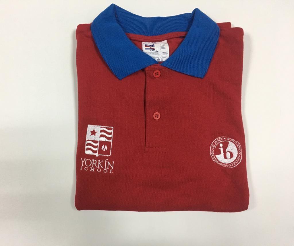 Yorkín - Camisa Polo Piqué Rojo para BI - 2019