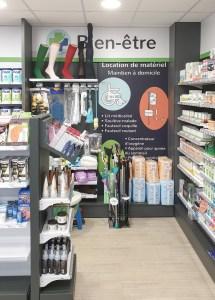 Aménagement d'une pharmacie à Guer