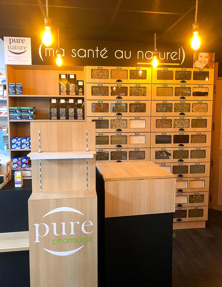 comptoir nature pharmacie Loire Atlantique