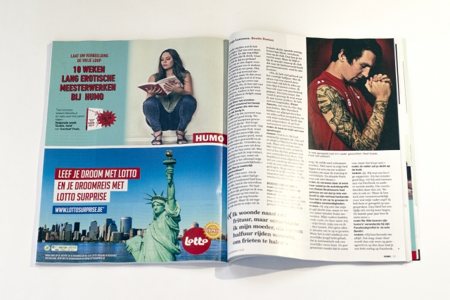 Humo Magazine: Double Page 2