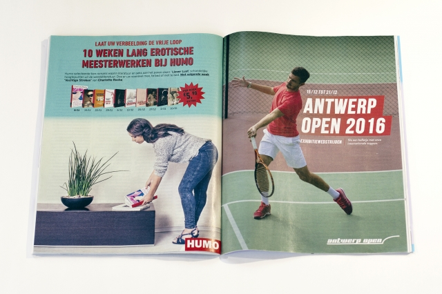 Humo Magazine: Double Page 3