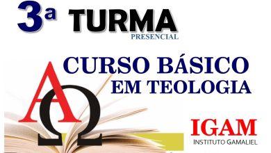 Photo of 3ª TURMA CURSO  BÁSICO EM TEOLÓGICO