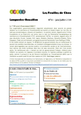 N°19 – juin-juillet 2014