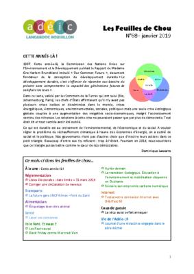N°68 – janvier 2019