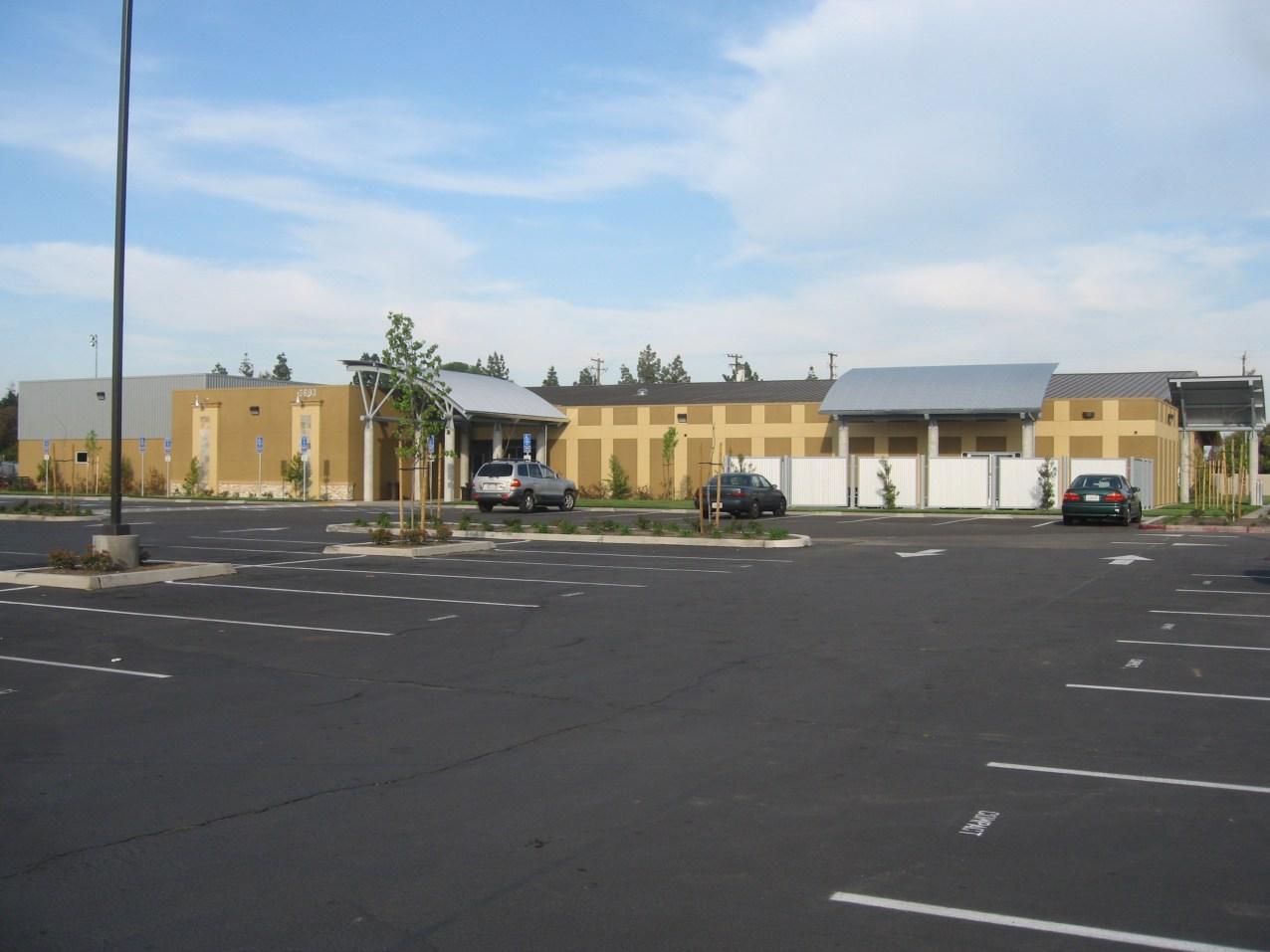 Site Main Entrance View