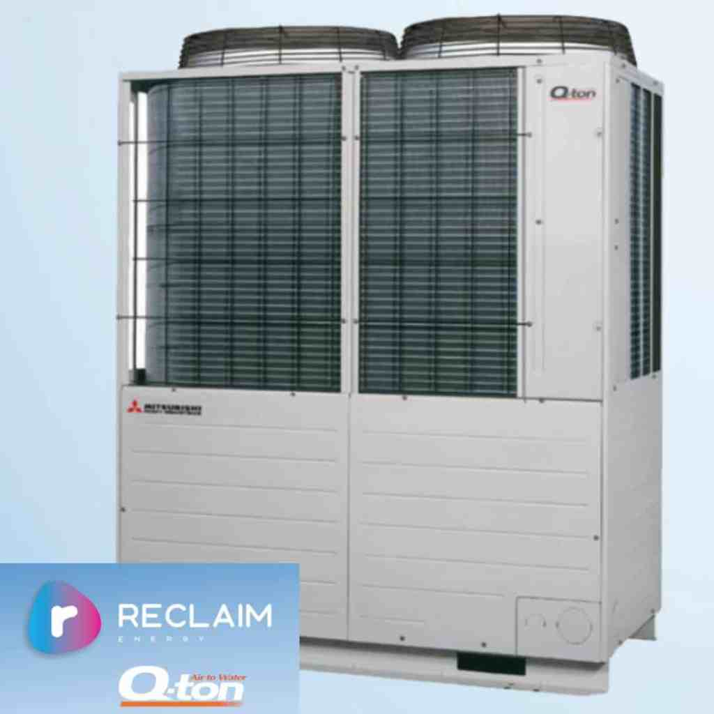 Reclaim Energy Q-TON Co2 heat pump for commercial hot water applications