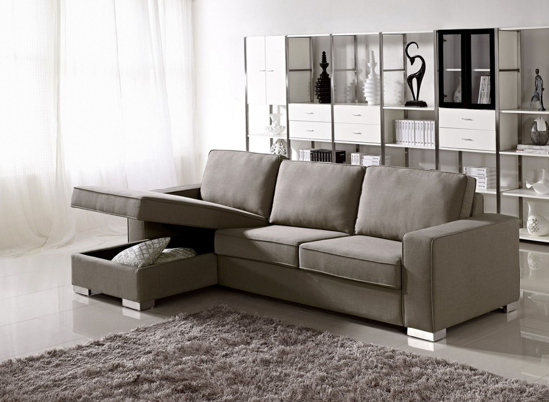 apartment size sectional sofa bed modern living room grey 9449 home design ideas