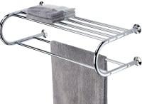 Bathroom Wall Shelf With Towel Bar | Home Design Ideas