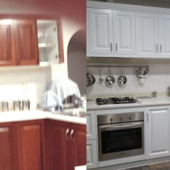 Kitchen Resurfacing Wall Coverings Adelaide Testimonial After Shot Of Richmond Renovation