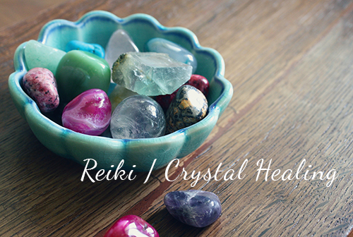 Reiki / Crystal Healing slide