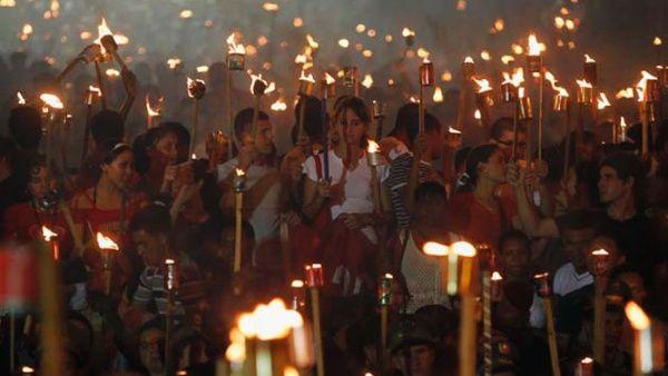 Luz de antorchas martianas iluminarán mañana a Camagüey
