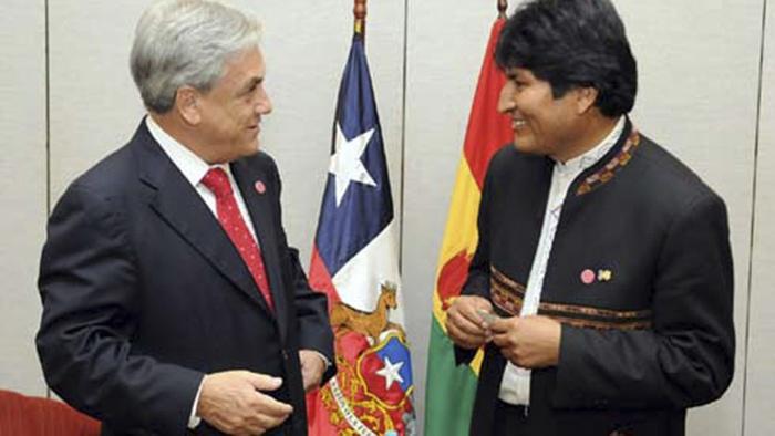 Renueva Piñera voluntad de Chile a conversar con Bolivia