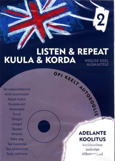 Inglise keel algajatele 2 - OÜ Adelante Koolitus