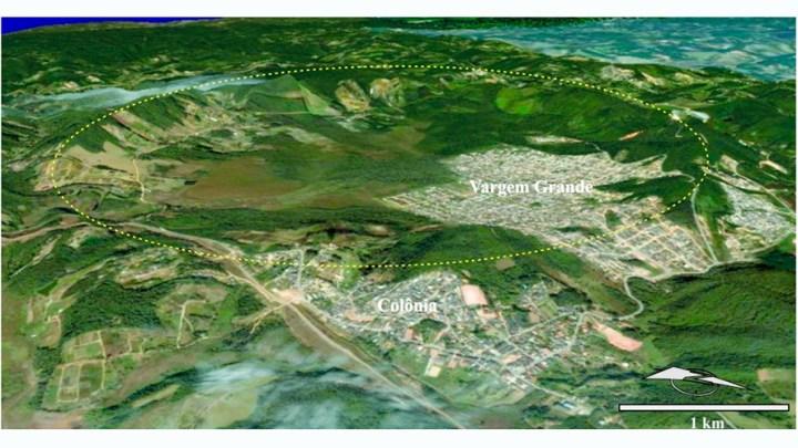 BRASIL. Cratera guarda a memória de impacto de corpo celeste na periferia de São Paulo 1