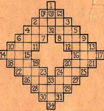 El primer crucigrama 1