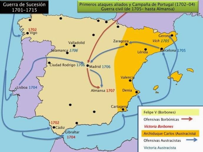 El tratado de Utrech y las dos Españas 4