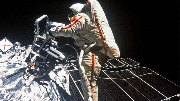 """Savitskaya, la primera """"paseante espacial"""" 2"""