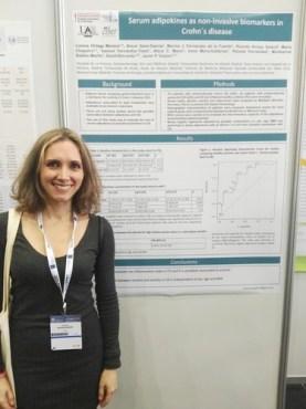 Lorena Ortega Moreno, primera autora del estudio publicado en 'Scientific Reports'.