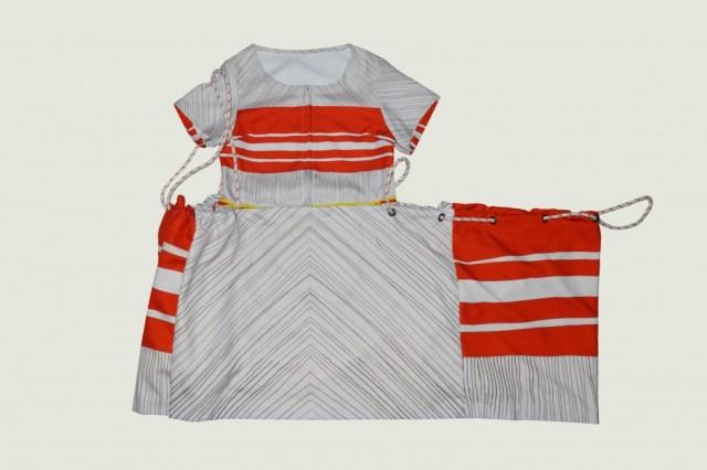robe imprimé